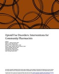 Opioid use Disorders: Interventions for Community Pharamcists